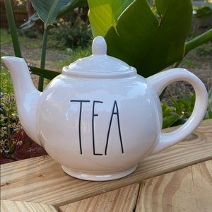 New Rae Dunn Classic TEA Teapot